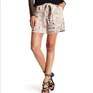 Marrakech shawna linen shorts